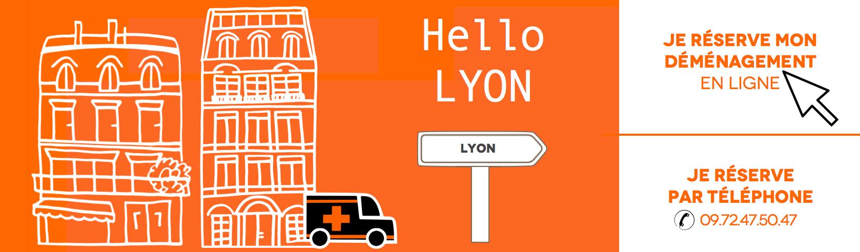 Déménagement pas cher à Lyon